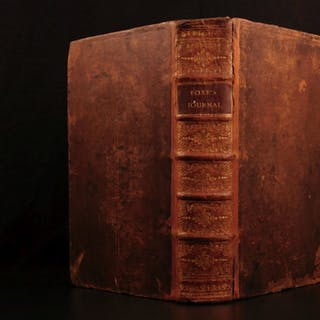 1765 George FOX Journal Voyages QUAKERS William Penn Society of Friends Martyrs