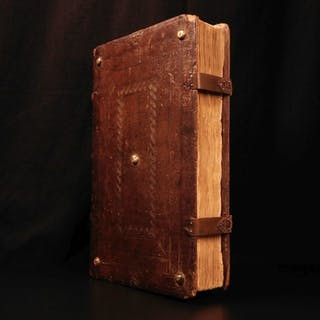 1491 PLUTARCH Parallel Lives Incunable Cicero Hannibal Plato Aristotle Homer
