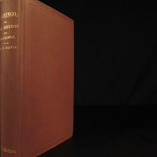 1857 1ed El Gringo New Mexico History Native American Pueblo Indians