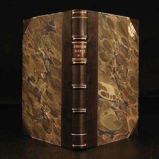 1844 1st ed Life of Saint Augustine of Canterbury English PAGANS King