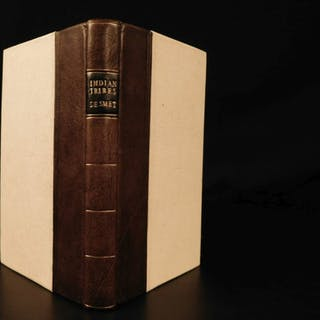 1843 Indian Tribes de Smet Rocky Mountains Illustrated Native Americans Montana