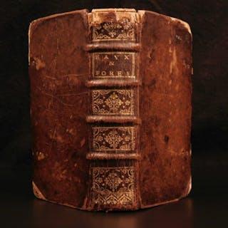 1693 Fishing Hunting LAW Ordinances of King Louis XIV Salt Taxes Tariffs France