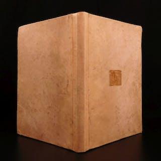 1495 Leonardo Bruni Familiar Letters Complete Incunable Italian Humanism Medici