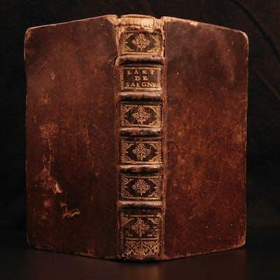 1686 Meurisse Art of Blood Circulation Medicine Anatomy Cupping Leeches du Sang