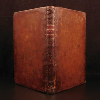 1614 1st English ed Memoires of Philippe Commines Louis XI France Charles VIII