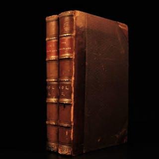 1858 1st ed The Virginians Makepeace Thackeray American Revolution Pendennis