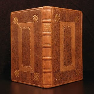 1678 1st ed Thomas Hobbes Natural Philosophy Astronomy Physics Kepler w/ MAP