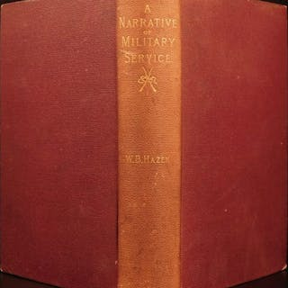 1885 General Hazen Narrative of Military Service CIVIL WAR Sherman March to Sea