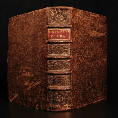 1668 Gavanti of Milan Thesaurus Sacrorum Rituum Catholic Mystical Rituals Rites