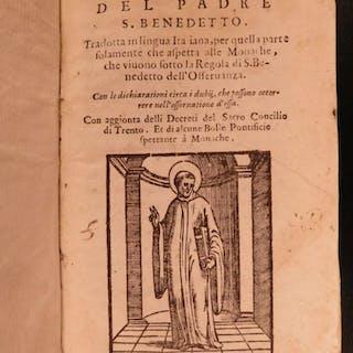 1604 Rule of Saint Benedict Nursia Italian Monastic Monks Catholic Orders RARE