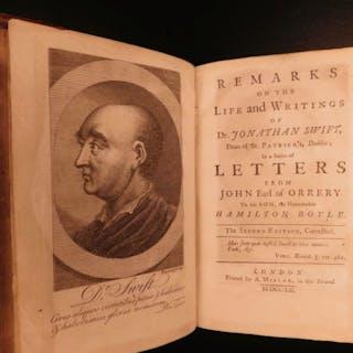 1752 Remarks on Life & Writings of Jonathan Swift John Boyle Gulliver's Travels