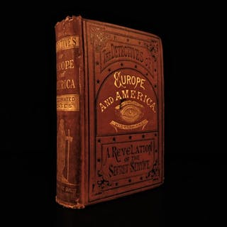1880 Detectives of Europe & America by McWatters Spies Secret Service