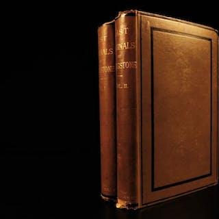 1880 1st ed Last Journals of David Livingstone African MAP Exploration 2v
