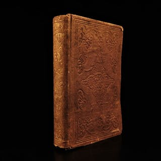 1854 Heroes & Hunters of Frontier West America Daniel Boone Illustrated INDIANS
