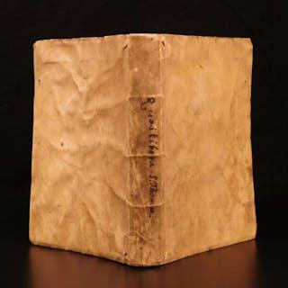 1520 1ed Thomas Aquinas SUMMA Campester Post Incunable Aristotle Problemata