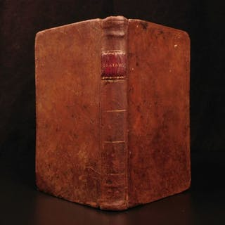 1794 1ed EARLY American Bible Commentary on Isaiah Old Testament Prophecy Lowth