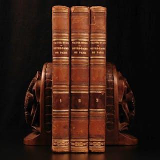 1836 Hunchback of Notre Dame de Paris Victor Hugo Illustrated French Literature