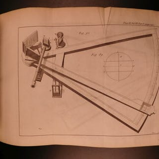 1734 Philosophical Transactions Optics Astronomy Medicine SCIENCE Ships Maps