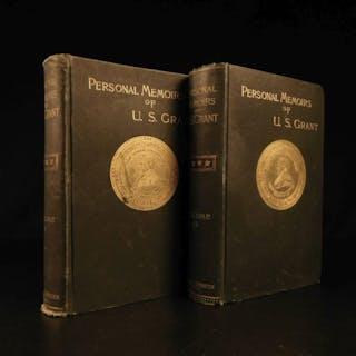 1885 1ed Civil War Memoirs General Ulysses S Grant Illustrated MAPS