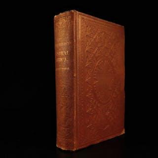 1860 1st ed Burton Lake Regions of Central AFRICA Nile River Lake Victoria