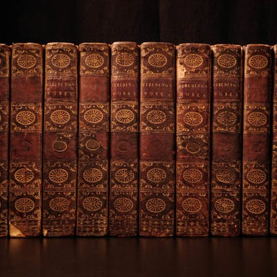 1784 Works of Henry Fielding English Theatre Plays Tom Jones Hogarth