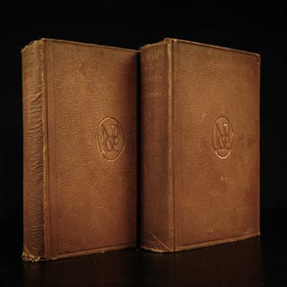 1868 1ed Constitutional View of CIVIL WAR by Alexander Stephens Confederate 2v