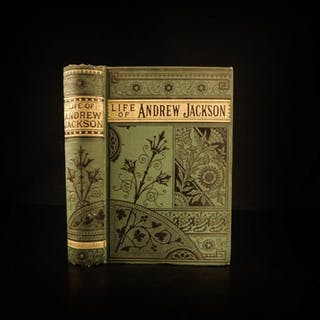 1880 Life of Andrew Jackson War of 1812 Native American Indians Military