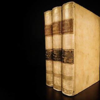 1821 1ed DANTE Divine Comedy Italian + JESUIT Venturi Commentary Papacy Bembo