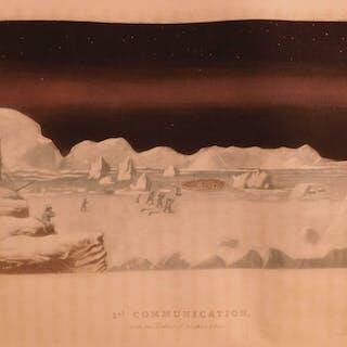 1835 1ed SIGNED John Ross Narrative of Second Arctic Voyage Inuit Eskimos