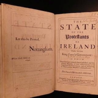 1692 State of Irish Protestants IRELAND William King Church of England
