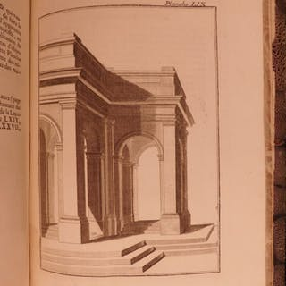 1750 1st ed Jeaurat ART Treaty on Perspective Illustrated Architecture Geometry