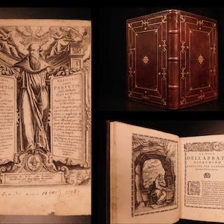 1600 Joachim Fiore Vaticinia Italian Prophecy OCCULT Dragon Monsters Antichrist