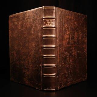 1674 1ed History of OXFORD Duns Scotus Tyndale Erasmus Heylin Bacon