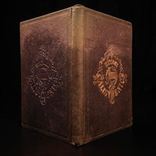 1864 1st ed 1st Copy Civil War Health Manual Calisthenics Illustrated