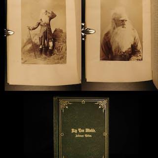 1870 Rip Van Winkle FAMOUS Jefferson Ed Irving Sarony Photograph Illustrations