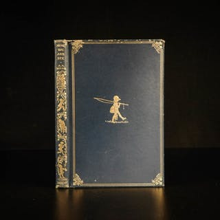 1927 RARE 1st Deluxe ed Now We Are Six Winnie the Pooh Milne Illustrated Poems