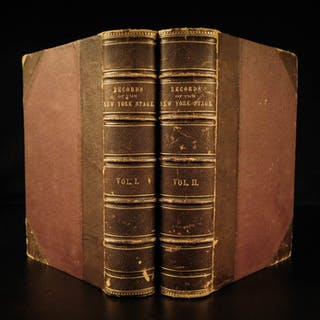 1866 1ed New York Stage American THEATER Actor Joseph Ireland James Hackett 2v