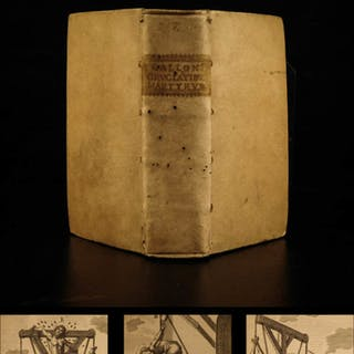 1668 Gallonio Martyrs & TORTURE Illustrated Stoning Reverse Hanging