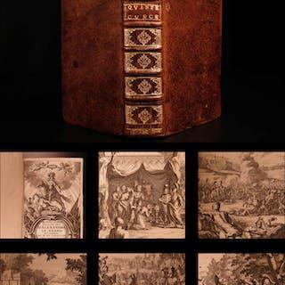 1697 Alexander the Great Quintus Curtius Rufus Greece Latin Illustrated