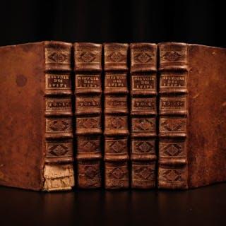 1673 JOSEPHUS Jewish WARS History Judaism Antiquities of Jews Andilly French 5v