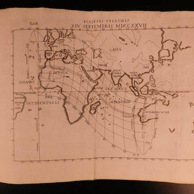 1725 Astronomy Manfredi Ephemerides Motuum Illustrated Comets