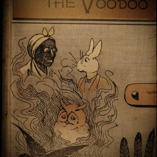1893 1ed Old Rabbit Voodoo Black Americana SLAVERY Missouri Indian