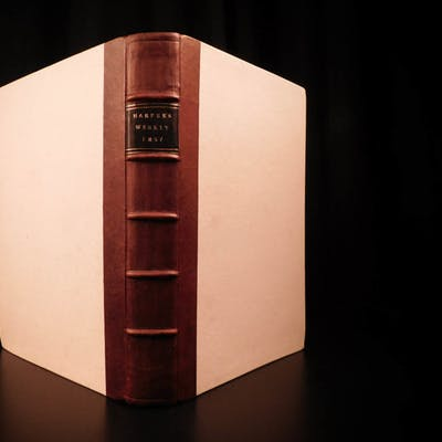1857 1st ed Harper's Weekly SLAVERY China Voyages RACISM Mormons Astronomy HUGE