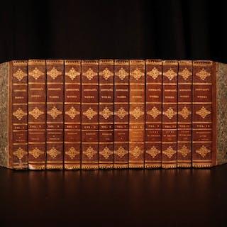 1816 Works of Samuel Johnson w/ FAMOUS Murphy Essay English Biography 12v SET
