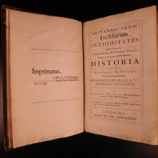 1687 1ed Irish James Ussher Ecclesiastical Antiquities of Britain