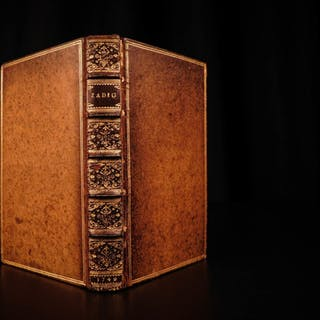 1749 1st ed Voltaire Zadig Book of Fate Philosophy Babylonian Metaphysics RARE