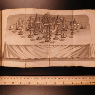 1733 Massialot French Cuisine Cooking Liqueurs WINE Confitures Jams