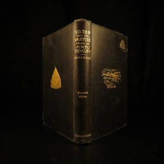 1893 Vikram & the VAMPIRE Sanskrit Folklore India MAGIC Illustrated