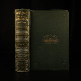 1867 1st ed American NAVY Officers Illustrated Farragut Civil War