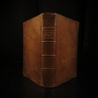 1842 Life of George Washington by Jared Sparks American Military Revolutionary